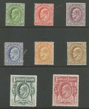 FALKLAND IS SG43-50  THE 1904-12  EVII SET OF 8  FINE MINT CAT £475