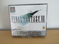 Final Fantasy 7 vii NEW factory SEALED platinum  PS1 pal version