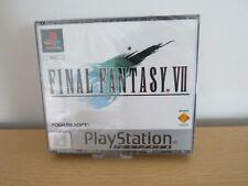 Final Fantasy 7 vii NEW factory SEALED platinum  PS1 pal version