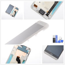 HTC Desire 816G Display LCD Touchscreen Digitizer Rahmen weiss