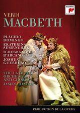 VERDI - MACBETH - DOMINGO,PLACIDO/SEMENCHUK,EKATERINA/+  2 DVD NEU