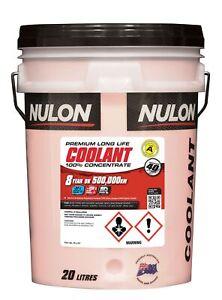 Nulon Long Life Red Concentrate Coolant 20L RLL20 fits Mitsubishi Verada 3.5 ...