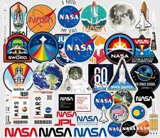 NASA Sticker Mars Space Theme Pack 40pcs | Laptop Mac Suitcase use sticker