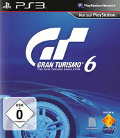 SONY PS3 Gran Turismo 6 GT6 Renn Spiel Racing Real Driving Simulator OVP deutsch