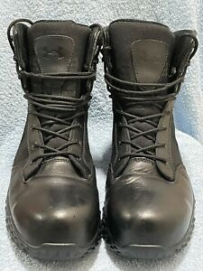 """Under Armour 1276375 Stellar Protect 8"""" Tactical Boots Composite Toe UK10.5"""