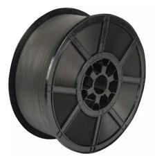 More details for black hand pallet strapping banding coil 12mm 2000mtrs