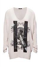 Lockre Sitzende Damenblusen,-Tops & -Shirts mit Fledermausärmel-Ärmelart ohne Mehrstückpackung