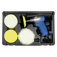 "Astro Pneumatic Tool 3055 3"" 0.3 HP Mini Air Rotary Polisher/Sander Kit"