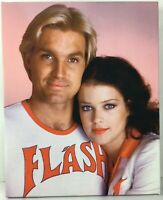 "Flash Gordon - Flash & Dale Arden 16"" x 20"" Quality Vintage Stretched Box Canvas"