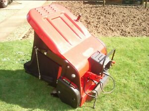 COUNTAX PGC powered grass collector for a ride on mower /  lawnmower.2016 MODEL