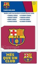 FC Barcelona Travel Pass Card Holder Ticket Wallet Official Football CH0123 New