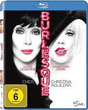 Blu-ray * BURLESQUE -  Cher , Christina Aguilera # NEU OVP
