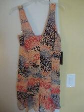 New Womens Rampage Geometric Peach Dress Size Medium
