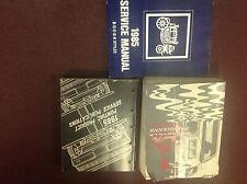 1985 Pontiac Grand Prix Bonneville Parisienne Service Shop Repair Manual SET W