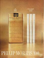 PUBLICITE  1968   PHILIP  MORRIS  cigarettes