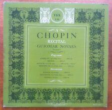 GUIOMAR NOVAES A Chopin Recital VOX PL 7810 LP