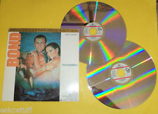 James Bond 1989 Thunderball 2 Laser Disc set! Sean Connery Claudine Auger See!