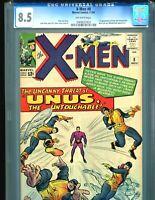 X-Men 8 CGC 8.5 1st Unus the Untouchable 1964 Amazing copy!! BIN $595!! Marvel