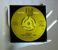 New listing Bread - Music Drink Coaster Made with Original 45 rpm Record