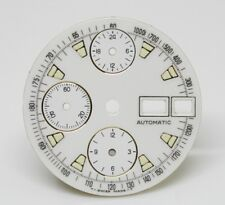 New Dial for Valjoux 7750  Chronograph Case With Day and Date With  3 Sub Dials