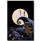 "The Nightmare Before Christmas Tim Burton Movie Art Silk Poster 12x18 24x36"" 005"