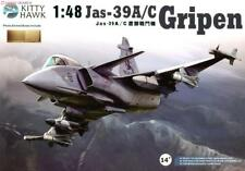Kitty Hawk 1/48 Model Kit SAAB Jas-39A/C Gripen# KH80117