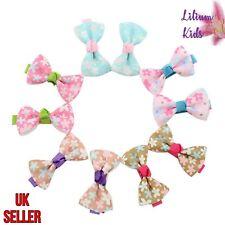 Mini Hair Bows - Flower Design