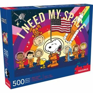 Peanuts Snoopy I Need My Space 500 piece jigsaw puzzle 480mm x 350mm  (nm)