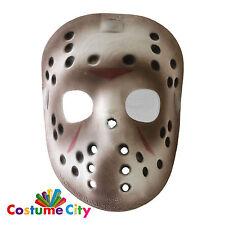 UFFICIALE Jason Voorhees Venerdì 13th Deluxe Halloween Maschera da Hockey Costume