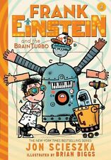 Frank Einstein and the BrainTurbo (UK edition) 'Book Three Scieszka, Jon