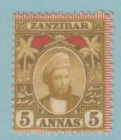 ZANZIBAR 45  MINT HINGED OG * NO FAULTS EXTRA FINE !