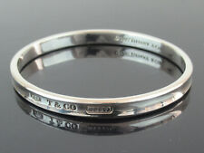 Authentic Tiffany&Co. 1837 Sterling Silver 925 Bangle Bracelet 1997