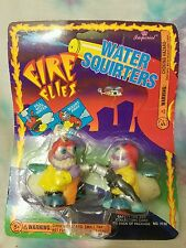 """Fire Flies Water Squirters """"Seltzer & Snake"""" 1995 Imperial Steddy Toys"""
