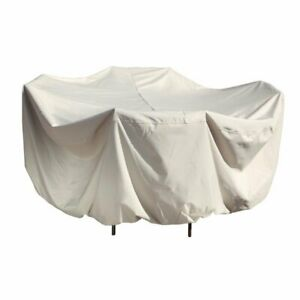 """Patio Furniture Cover 48"""" Round Table and Chair Treasure Garden CP551"""