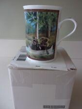 Danbury Mint Boyds Bear On Bear Pond Coffee Mug Cup NIB
