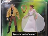1997 Kenner Star Wars  PRINCESS LEIA COLLECTION & LUKE SKYWALKER action figures