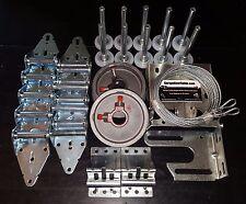 Garage Door Hardware Complete Kit - Heavy Duty 11 GA - 9x7 or 8x7