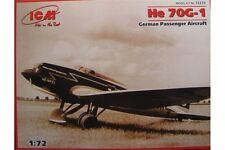 ICM 72233 1/72 He 70G-1 German Passenger Aircraft