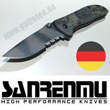 SANRENMU F9 707-7007 LVK-SGT Taschenmesser Realtree Einhandmesser 8Cr13MoV Stahl