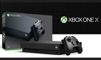 Microsoft XBOX One X Video Game Console 4K Ultra HD DVD Blu-ray 1TB HDD Storage