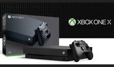 Microsoft XBOX One X Video Game Console 4K Ultra HD DVD Blu-ray 1TB HDD Storage