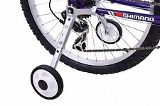 "Bicycle Stabilisers Adjustable Training 18"" 20"" 24"" Wheel Kids Bike with Gears"