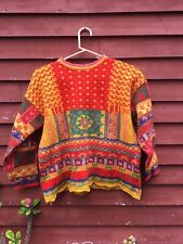 Oilily Women's Wool Blend Sweater Size Small