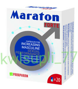 Maraton Forte 20 caps Hard Penis Male Sex Potency Erection Pills - FAST DELIVERY