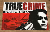 True Crime Streets of LA rare small Poster 42x30cm