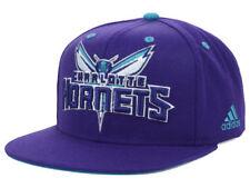 Charlotte Hornets adidas V850Z NBA Basketball Flat Brim Snapback Cap Hat