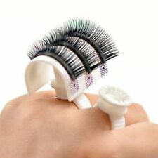 Eyelash Strip Holder Glue Ring Plastic Set Pallet 3D Eye Lash Extensions Gift