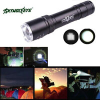 2500LM Zoomable CREE XML T6 LED 18650 Taschenlampen Torch Lamp Stablampe 18650