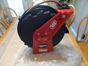 NEW Ingersoll Rand Heavy-Duty Composite Hose Reel — 3/8in. x 50-ft. Hose, Max. 3