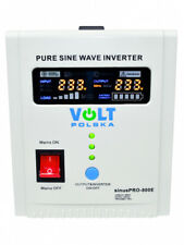 Spannungswandler Wechselrichter Notstromversorgung UPS 12V 500W (SIN-PRO-800E)